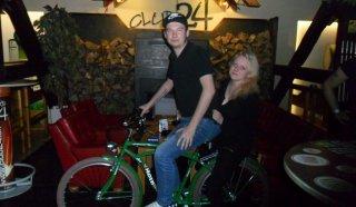 Víťaz - štýlového bicyklu HEINEKEN október 2014